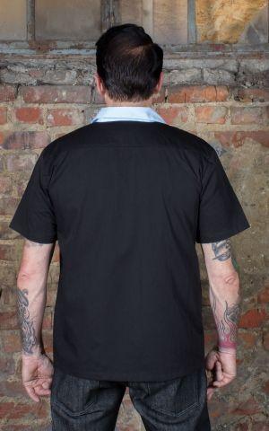 Rumble59 - Lounge Shirt - Rocking Diamonds - hellblau