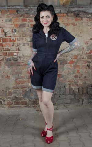 Rumble59 Ladies Denim - Shortall