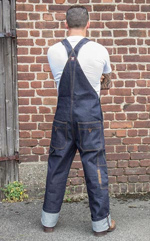 Rumble59 Jeans - Raw Selvage Denim Dungarees | Latzhose