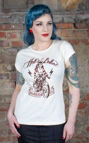 Rumble59 - Ladies T-Shirt - Hells Belles - crème