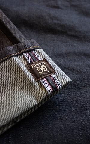 Rumble59 Jeans - Male Slim Fit RAW Denim