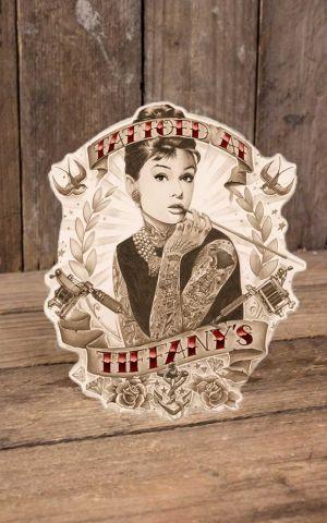 Rumble59 - Aufkleber Tattoed at Tiffanys