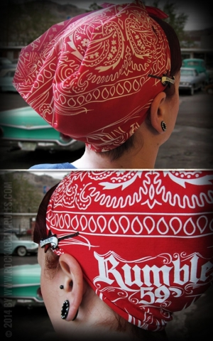 Rumble59 - Bandana - Racing against the Devil