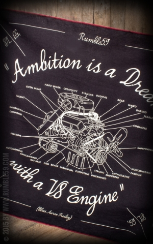 Rumble59 - Bandana - Ambition is a Dream