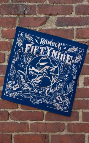 Rumble59 - Bandana - Courage is a choice