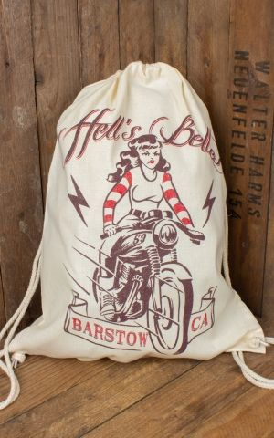 Rumble59 - Cotton Rucksack - Hells Belles