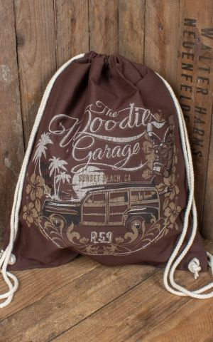 Rumble59 - Baumwollrucksack - The Woodie Garage