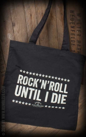 Rumble59 - Cotton Bag - Until I Die