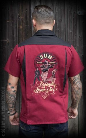 Rumble59 - Bowling Shirt - SUN, Legends never die