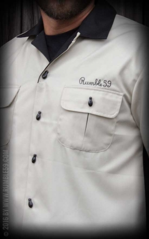 Rumble59 - Bowling Shirt - Shrunken Head