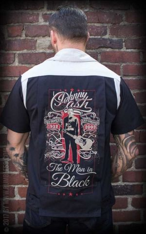 Rumble59 - Bowling Shirt - The Man in Black
