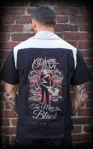 Rumble59 - Bowling Shirt - The Man in Black