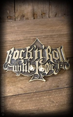 Rumble59 - Buckle RocknRoll Until I Die - Special Edition