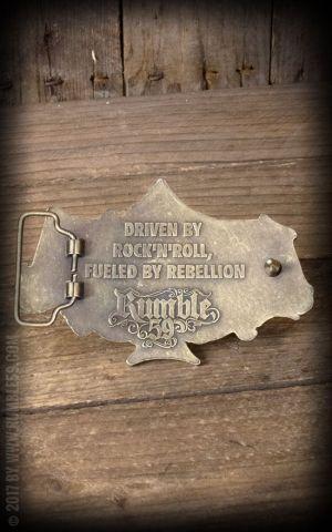 Rumble59 - Buckle RocknRoll Until I Die - Special Edition