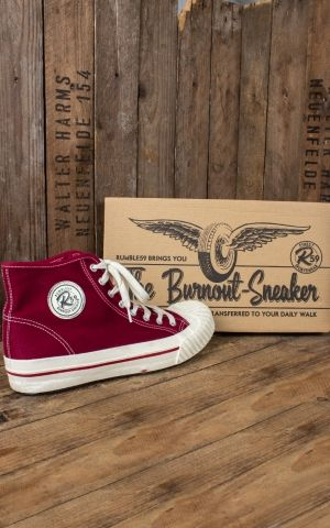 Rumble59 - Burnout-Sneaker - bordeaux