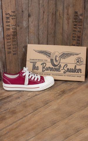 Rumble59 - Burnout-Sneaker Lo Top - bordeaux