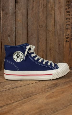 Rumble59 - Burnout-Sneaker - blue marine