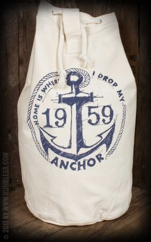 Rumble59 - Canvas Kitbag - Drop my anchor