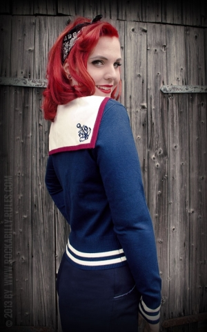 Rumble59 Ladies - Sweet Sailor Cardigan