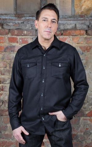 Rumble59 - Classic Gentlemans Shirt - black