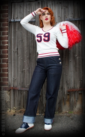 Rumble59 Ladies - College Sweater
