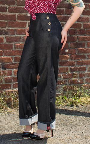 Rumble59 Denim - Black Marlene Jeans