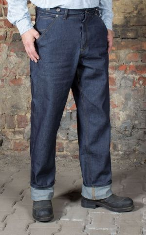 Rumble59 - RAW Loose Fit Denim - Dapper Workman
