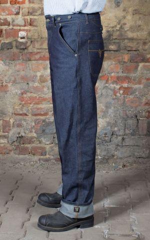 Rumble59 - RAW Loose Fit Denim - Dapper Workman