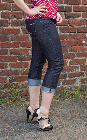 Rumble59 Denim - Ladies Capri Jeans