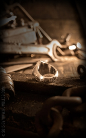 Rumble59 - Stainless Steel Ring - TCB