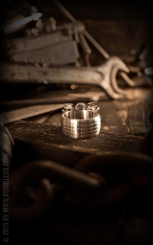 Rumble59 - Stainless Steel Ring - V8