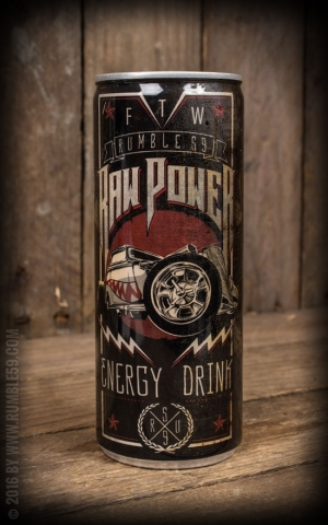 Rumble59 Energy-Drink - Raw Power