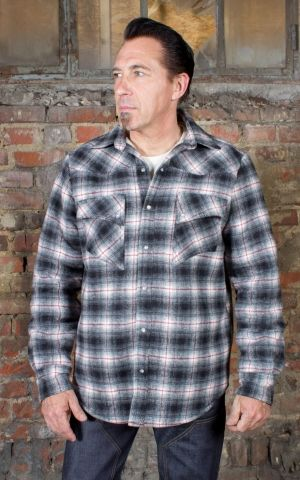 Rumble59 - Winter Shadow Plaid Shirt | Flanellhemd - Idaho