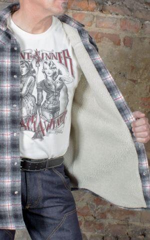 Rumble59 - Winter Shadow Plaid Shirt | Flanellhemd - Idaho