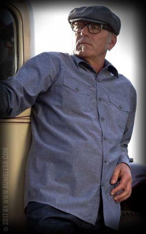 Rumble59 - Classic Gentlemans Shirt - Anchor