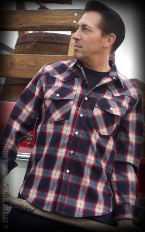 Rumble59 - Shadow Plaid Shirt