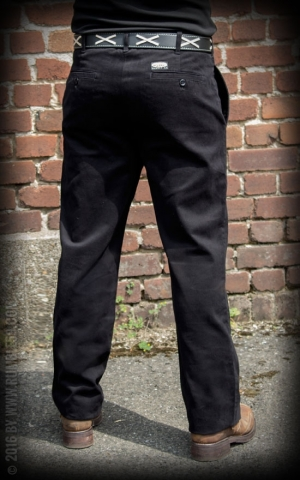 Rumble59 - Chino Pants California - noir