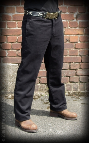 Rumble59 - Chino Pants California - black