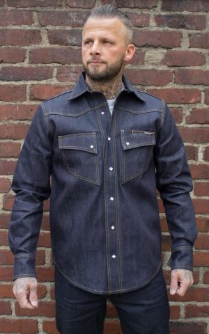 Rumble59 Jeans - RAW Japan Selvage Denim Shirt