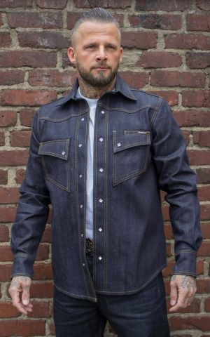 Rumble59 Jeans - RAW Japan Selvage Denim Shirt | Jeanshemd