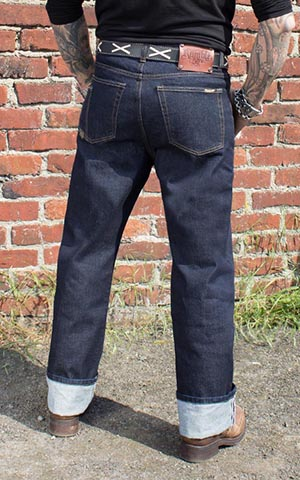 Rumble59 Jeans - Greasers Gold