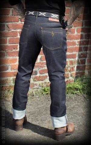Rumble59 Jeans - Male Slim Fit RAW Denim