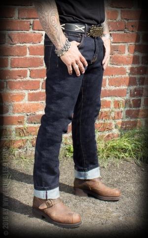 rockabilly jeans latzhosen f r herren rockabilly rules. Black Bedroom Furniture Sets. Home Design Ideas