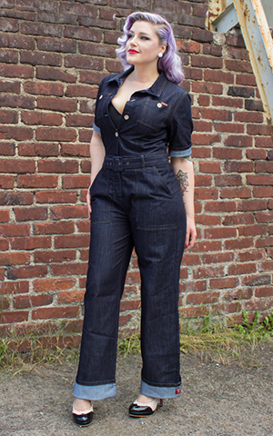 Rumble59 Ladies Denim - Overall
