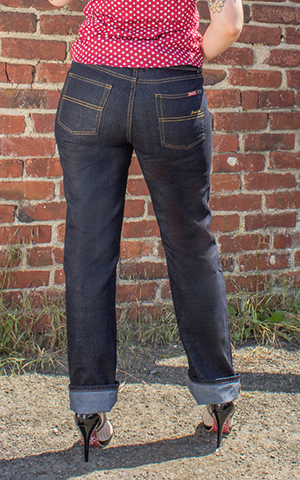 Rumble59 Ladies Denim - Garage Gal - Straight Cut