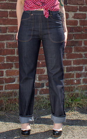 Rumble59 Ladies Denim - Restless Rosie - Worker Jeans