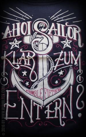 Rumble59 - Ladies Scoop Neck Shirt - Ahoi Sailor