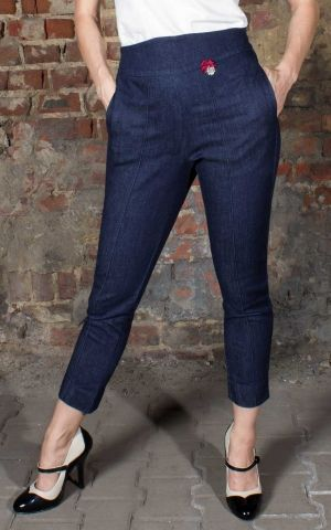 Rumble59 Ladies Denim - 7/8 Pencil Pants | Bleistifthose