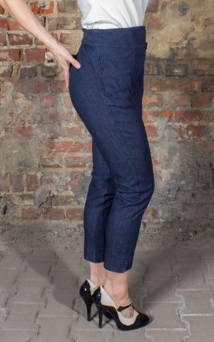 Rumble59 Ladies Denim - 7/8 Pencil Pants