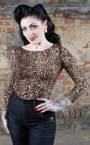 Rumble59 Ladies - Leopard Shirt - The wild one